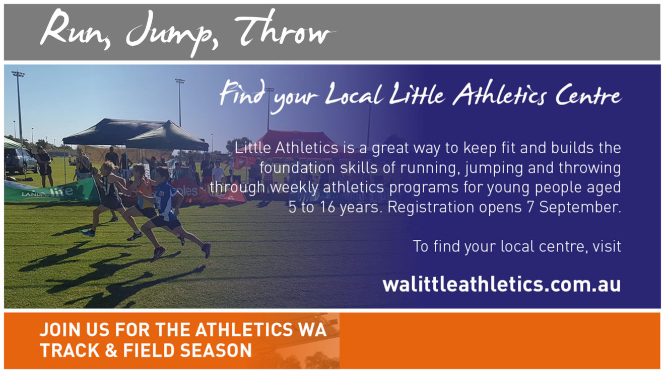 WA ATHLETICS TRACK & FIELD