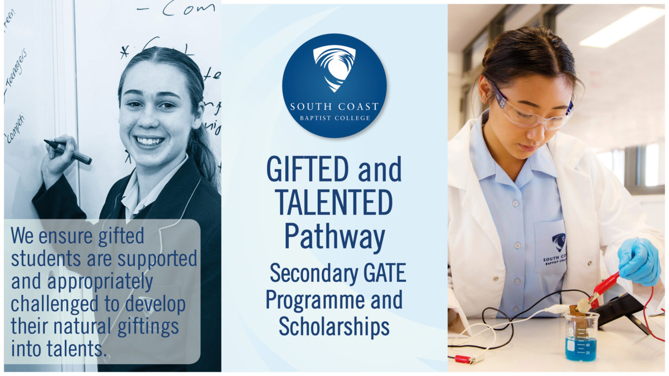 GIFTED AND TALENTED PATHWAY - Applications close on Thursday, 25th September 2019.