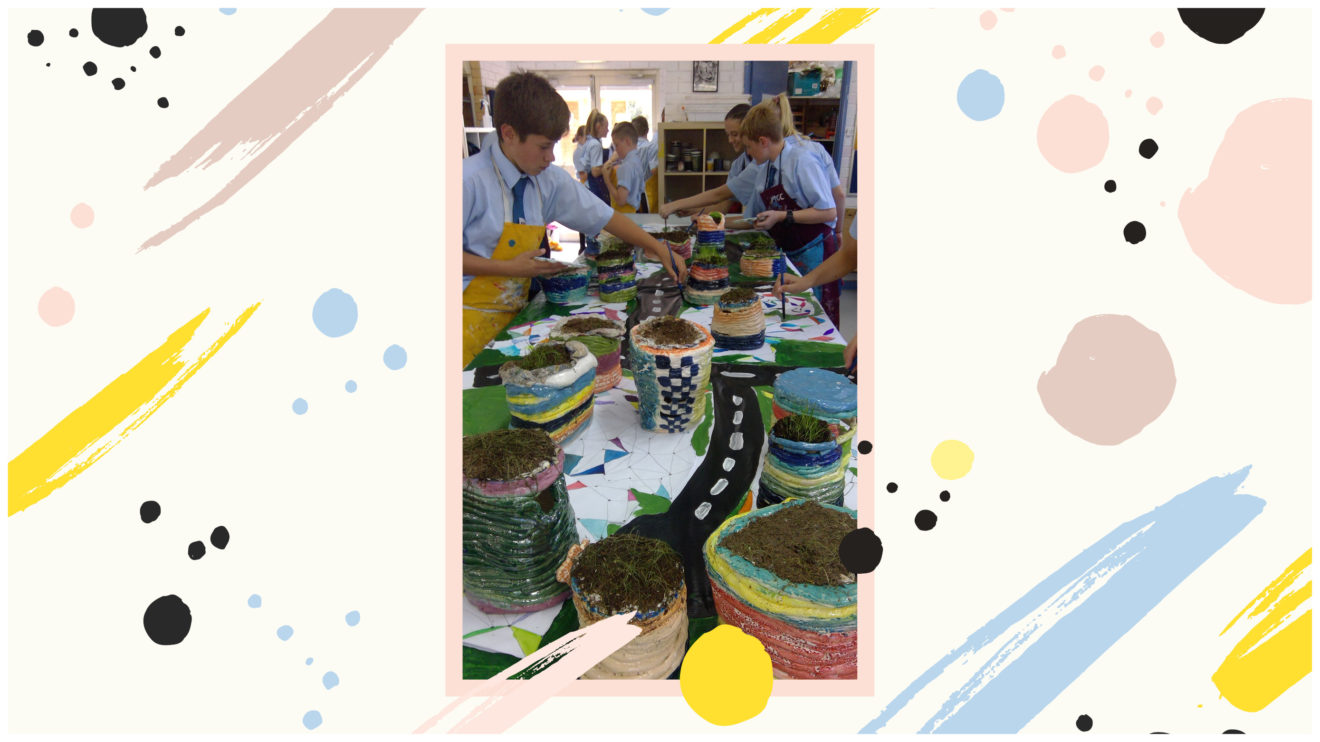YEAR 7 CLAY INSTALLATION