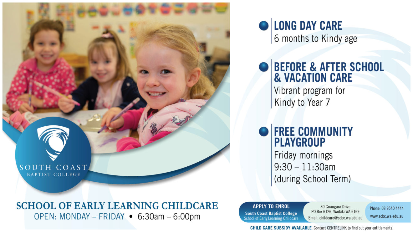 SCHOOL OF EARLY LEARNING CHILDCARE