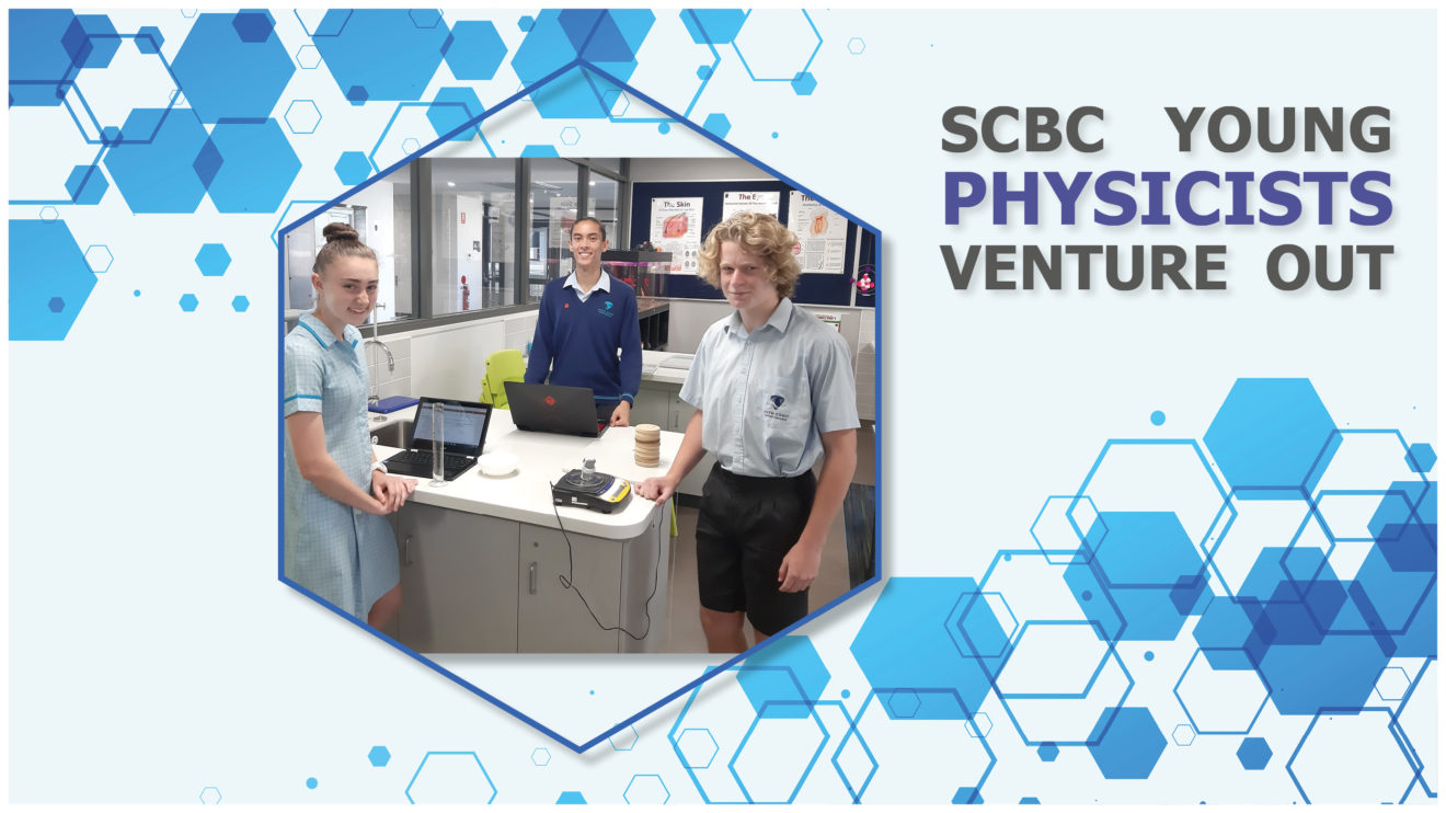 SCBC YOUNG PHYSICISTS VENTURE OUT