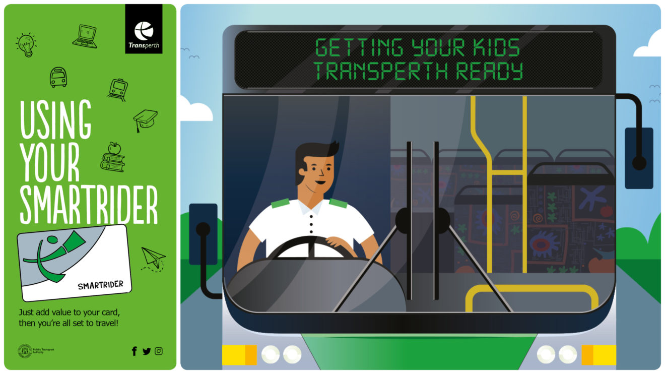 USING YOUR SMARTRIDER & GETTING YOUR KIDS TRANSPERTH READY