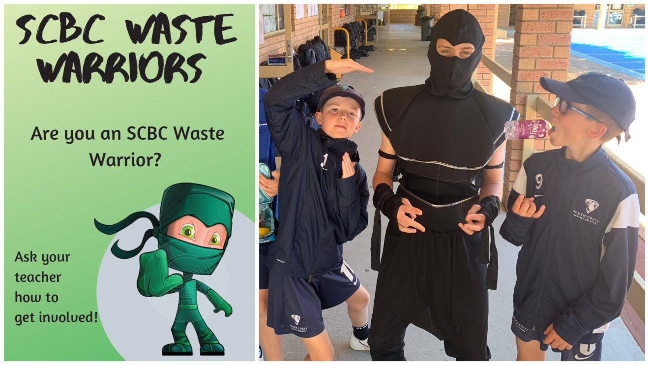 GATE STUDENTS LAUNCH 'WASTE WARRIORS' PRIMARY INITIATIVE